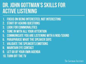 Gottman Skills